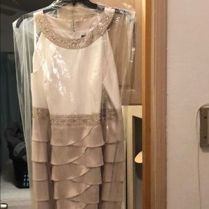 Jessica Howard Dresses - NWT ivory/beige formal bridal gown/ mom of bride